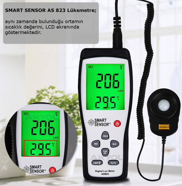 Smart-sensor-as-823-ışık-ölçer