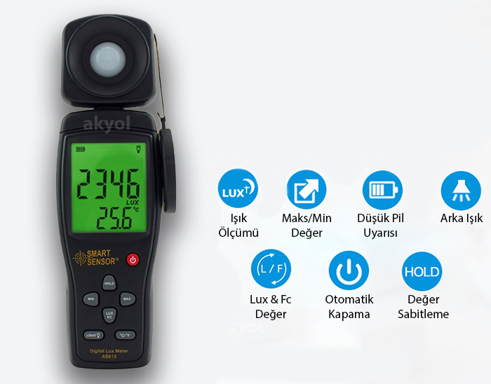 akyol smart sensöt as-813