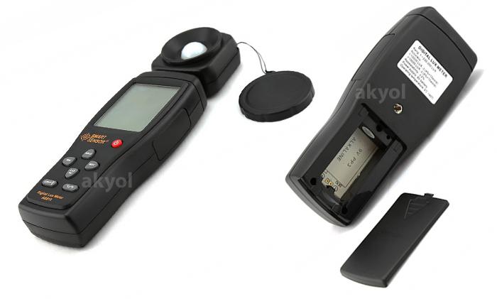 as-813 ışık ölçer cihazı