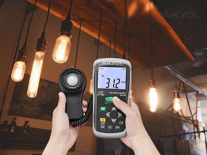 Cem dt-1309-ışık-ölçer