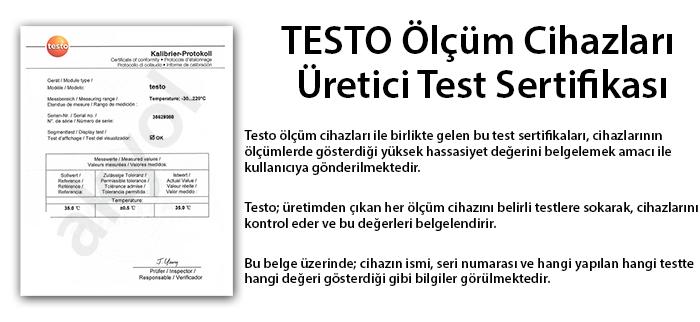 testo sertifika