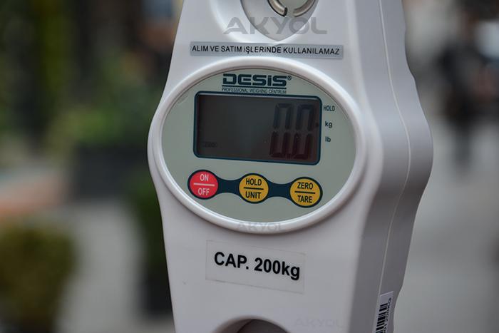 CR-200 Vinç baskülü
