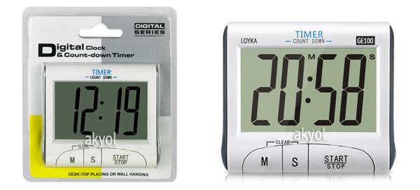 dijital kronometre