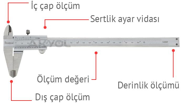 dasqua 1120-3120 mekanik kumpas