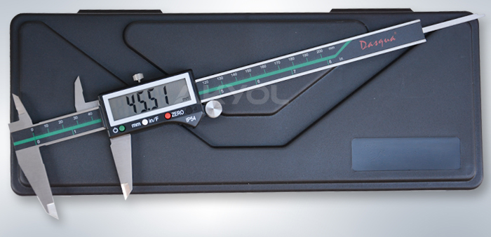 dasqua 200 mm dijital kumpas