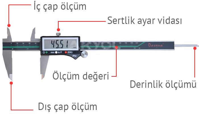 2310-7110 dijital kumpas