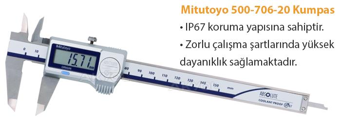 mitutoyo 500-706-20 dijital kumpas