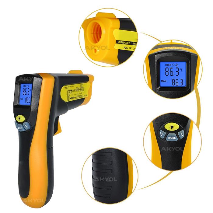 8550 kızılötesi termometre