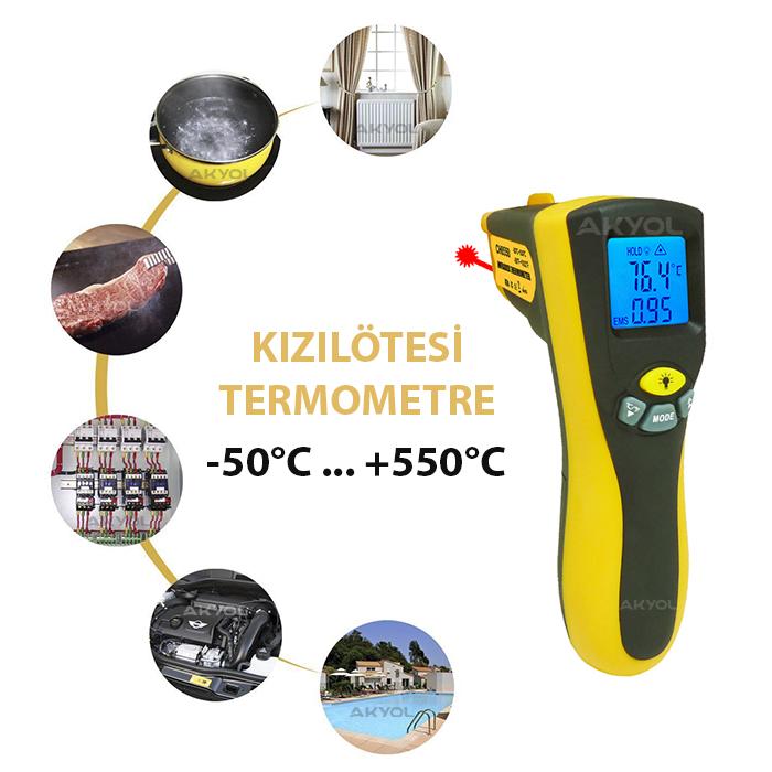 kızılötesi termometresi