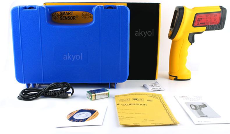 smart sensor as882 lazerli ısı ölçer cihazları