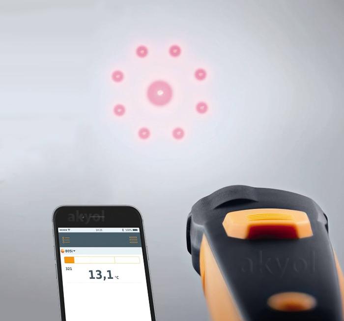 testo 805i lazerli sıcaklık ölçer