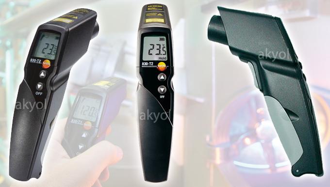 testo 830-t2 lazerli sıcaklık ölçüm cihazı