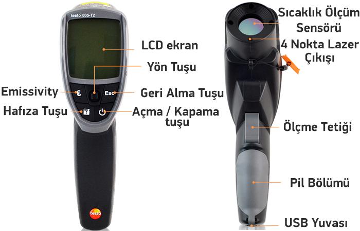 testo 835-T2 özellikleri