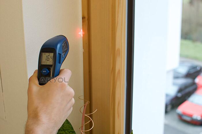 infrared lazerli ısı ölçer