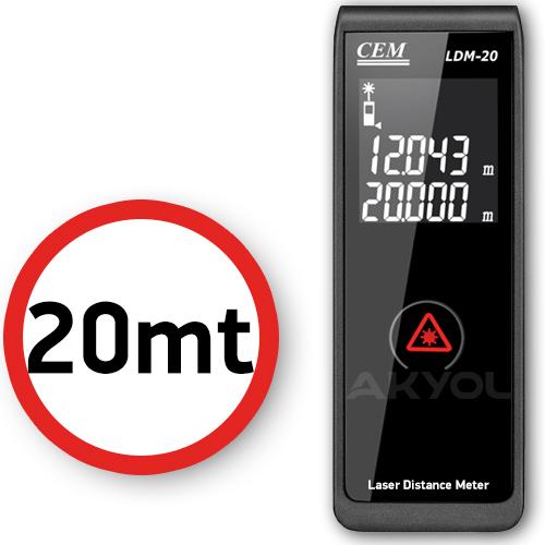 cem ldm-20 lazermetre