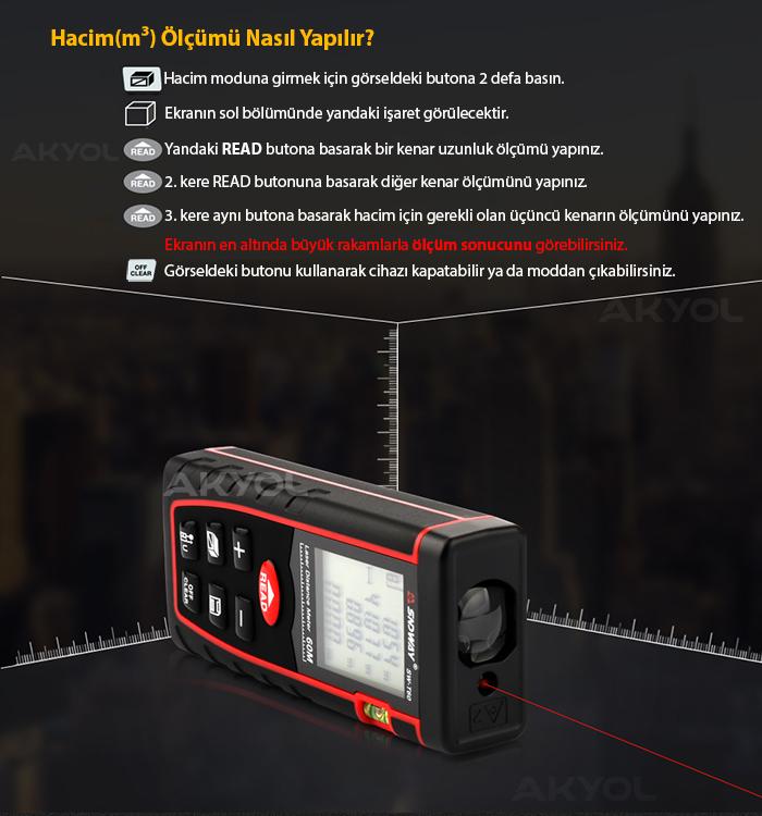 sndway sw-t60 lazermetre