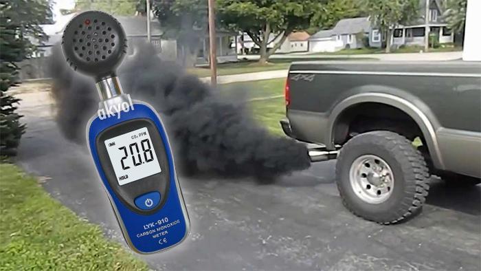 karbonmonoksit ölçer