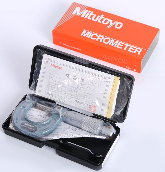 0-25mm mikrometre