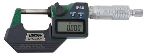 insize dijital mikrometre