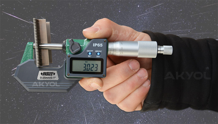 insize dijital mikrometre 3108 25a