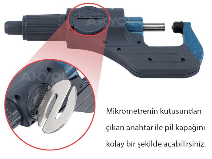dasqua hassas dijital mikrometre