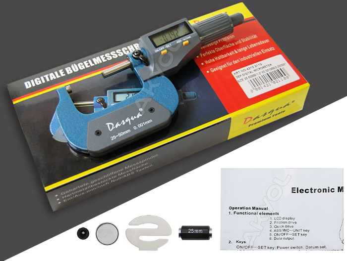 dasqua 4210-2110 dijital mikrometre