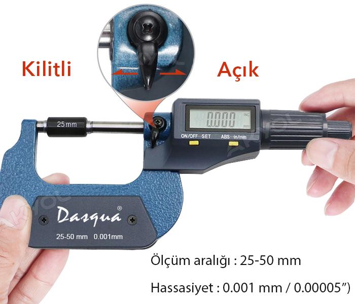 dasqua 4210-2110 25-50mm mikrometre