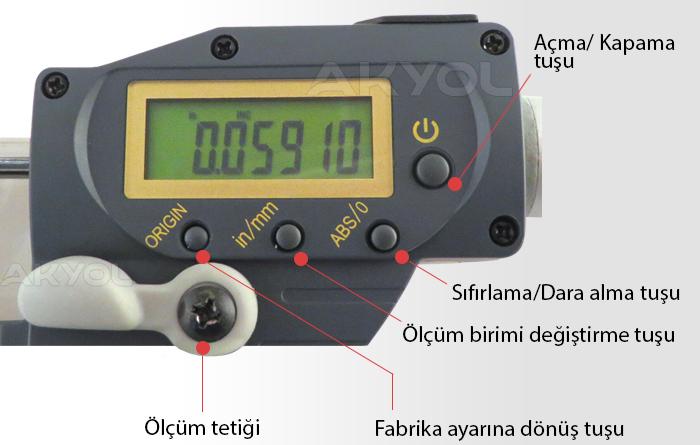 dasqua 4220-2105 hızlı ölçüm mikrometresi