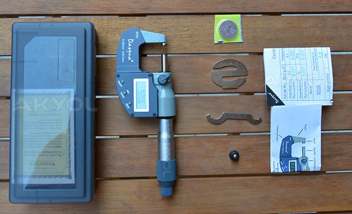 Dasqua 4410-1105 hassas mikrometre