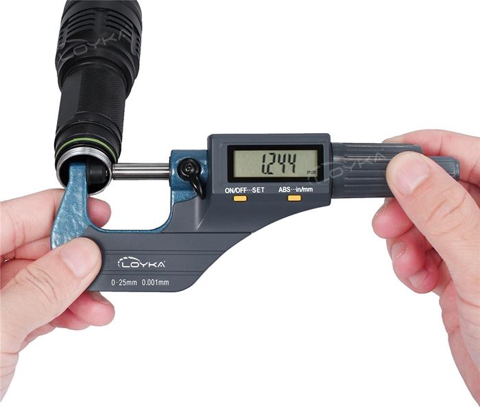 loyka 5202-25 dijital mikrometre