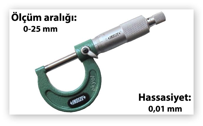 insize mikrometre