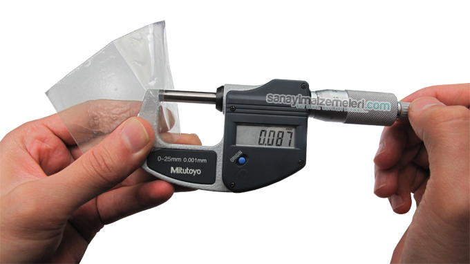 mitutoyo dijital mikrometre