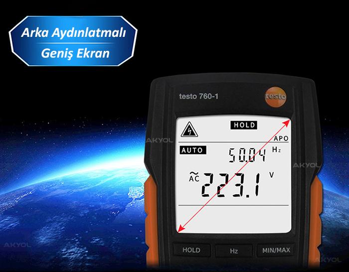 Testo 760-1 Dijital Multimetre
