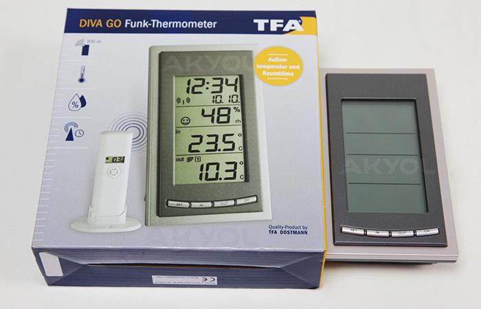TFA 3018 sıcaklık ölçer