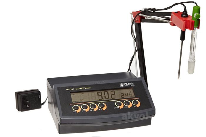 akyol hanna hi 2211 ph ve mV ölçüm cihazı