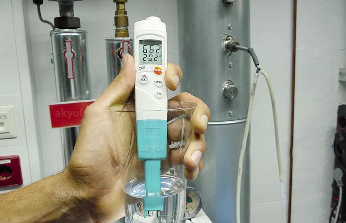 testo 206 pH1 sıvı sıcaklık ve ph ölçüm cihazı