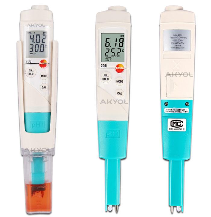 Testo 206 ph ölçüm cihazı