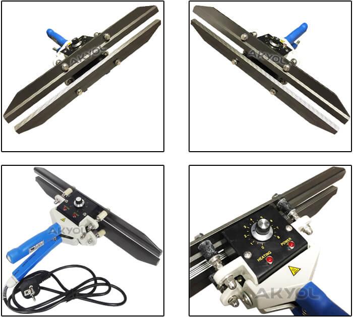 FKR-400 folyo yapıştırma makinesi