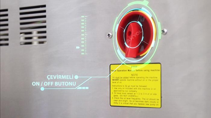 hvc260t vakumlu yapıştırma makinası