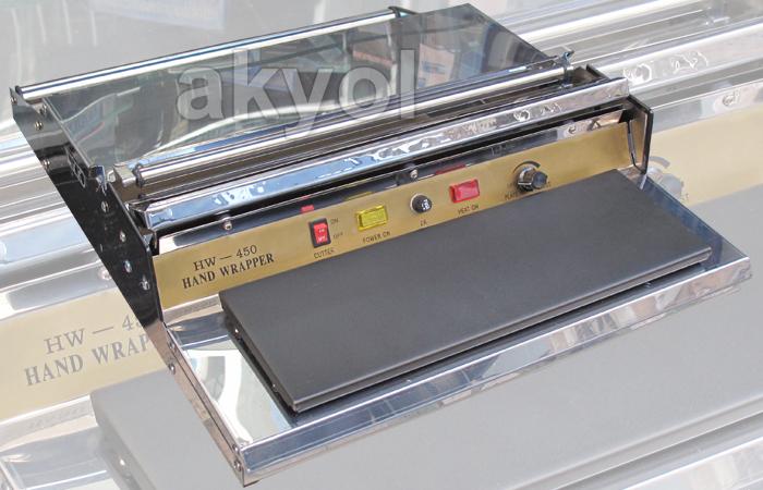 ısıtıcılı streç film paketleme makinası