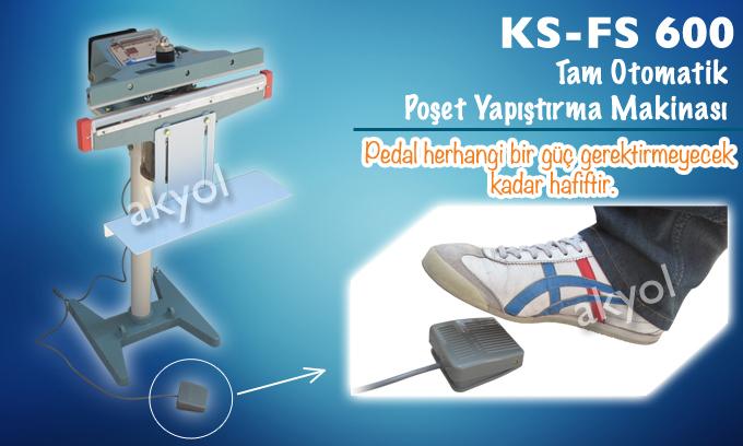 otomatik poşet yapıştırma makinası