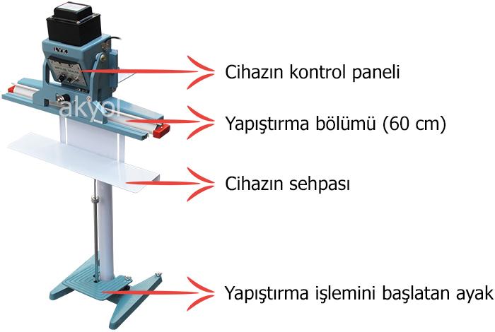 dikey yapıştırma makinası