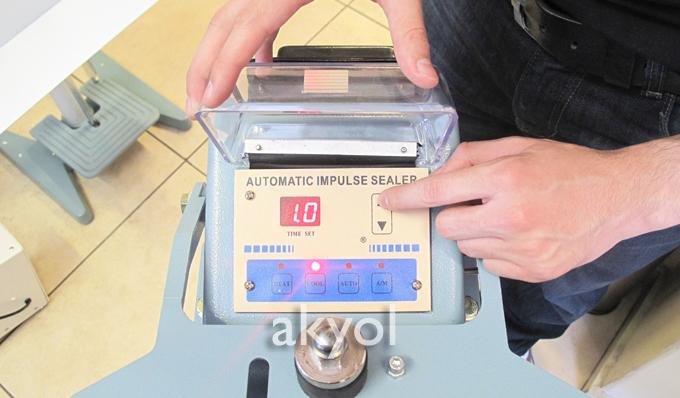 ksfs 600 poşet yapıştırma makinası