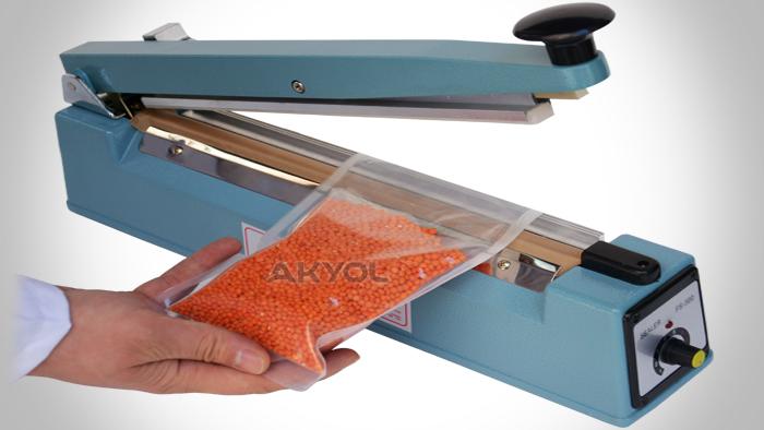 FS 500C poşet yapıştırma makinesi