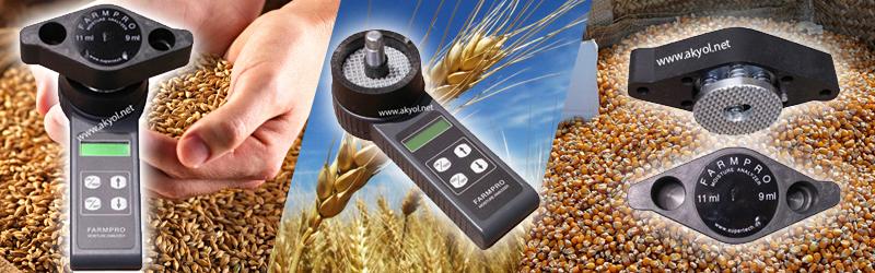 farmpro tahıl nem ölçer