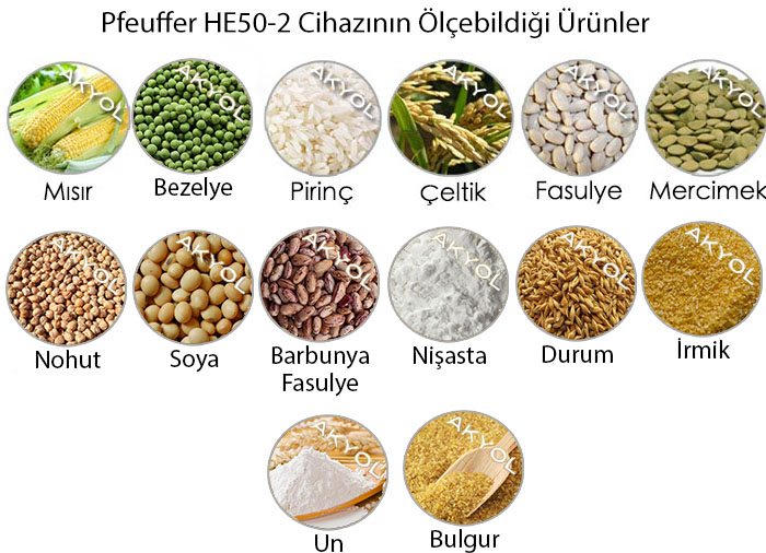 he50-2 tahıl nem ölçer