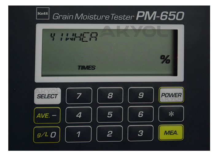 pm 650 rutubet nem ölçer