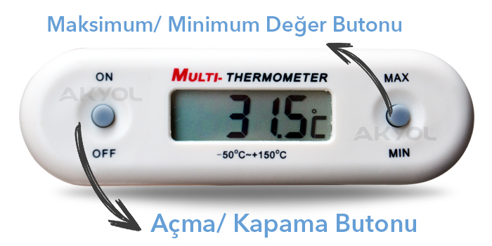 tfa gt2 vidalı termometre