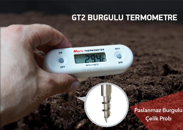 tfa gt2 burgulu sıcaklık ölçer