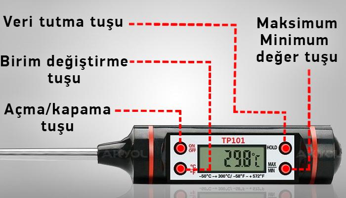 tp101 sıcaklık ölçer